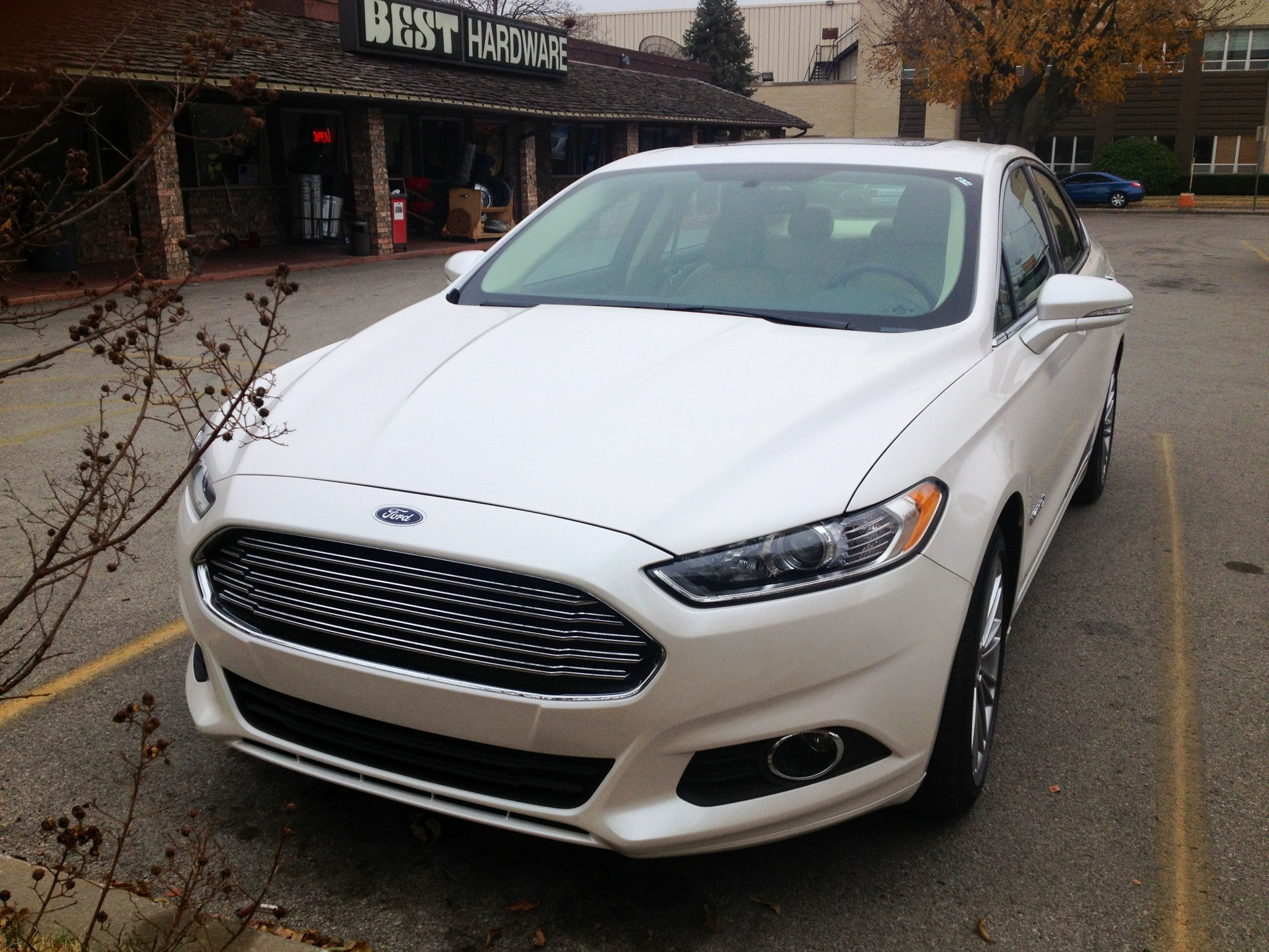 car hybrid review titanium ford driving platinum road test fusion reviews